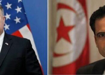 وزير الخارجية يبحث مع نظيره الأمريكي الملف الليبي