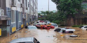فيضانات كوريا الشمالية: 22 قتيلا و4 مفقودين