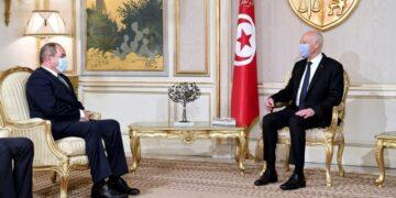 فحوى لقاء رئيس الجمهورية بوزير الخارجية الجزائري