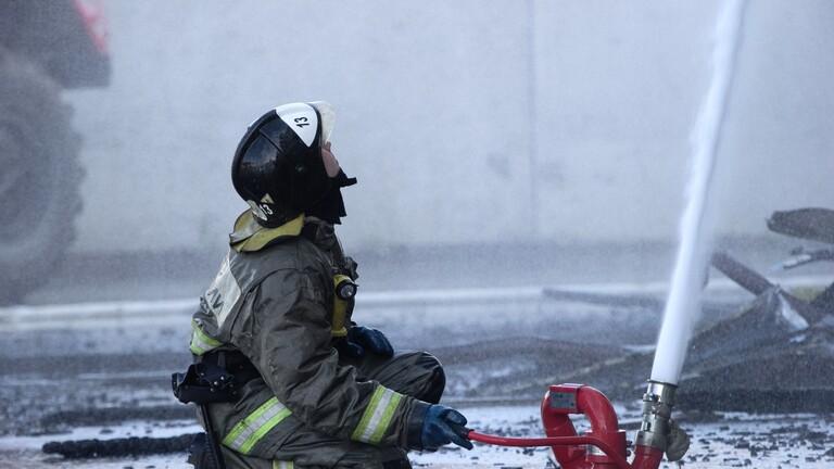 5 قتلى بحريق في عمارة سكنية جنوب روسيا