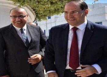 هشام المشيشي يلتقي يوسف الشاهد