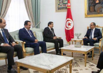 هشام المشيشي يلتقي النائب العام لدولة قطر