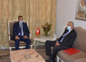 وزير الداخلية يلتقي بوزير تكنولوجيات الاتصال