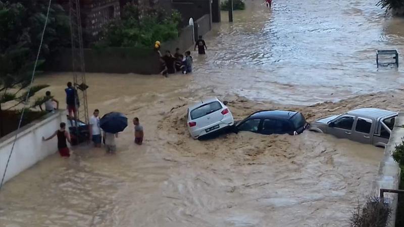 """بكلفة 9 م.د"""" انطلاق أشغال القسط الأول من مشروع حماية مدينة رواد من الفيضانات"""