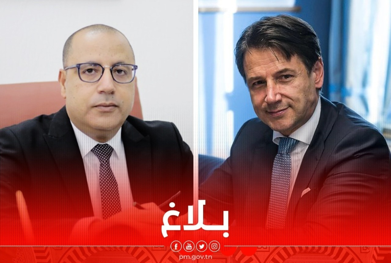 رئيس الحكومة يتلقى اتصالا هاتفيا من رئيس مجلس الوزراء الايطالي