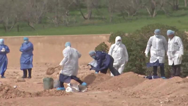 دليل جديد خاص بمراسم دفن المتوفين بكوفيد 19