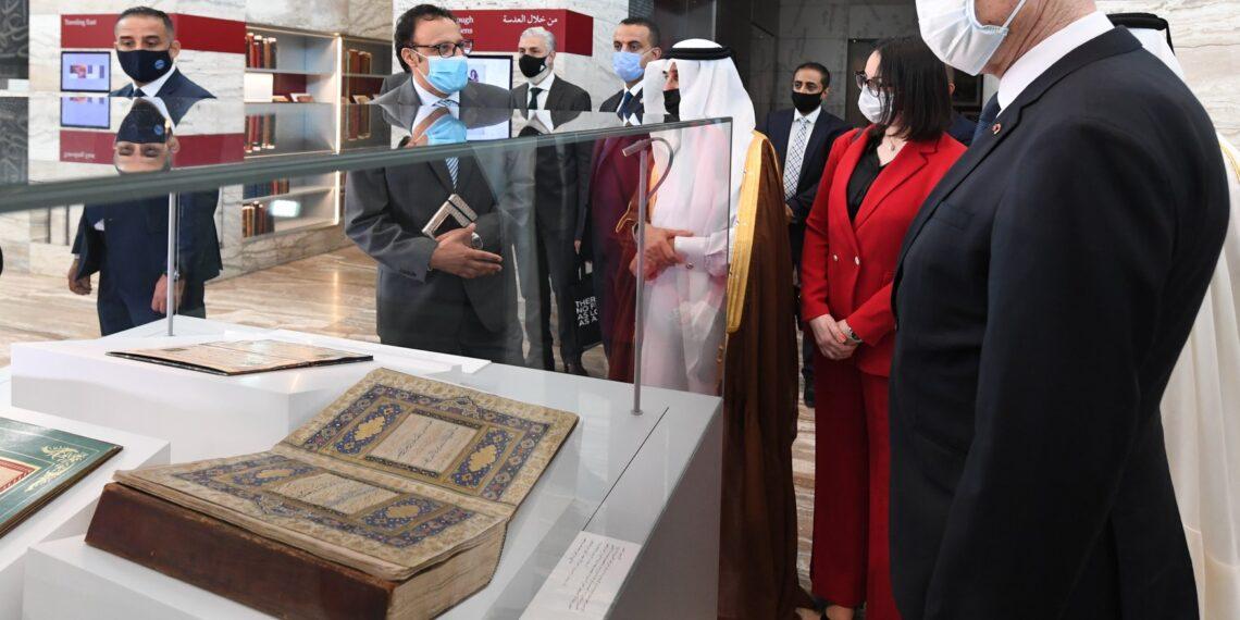 رئيس الجمهورية يزور مؤسسة قطر للتربية والعلوم (صور)