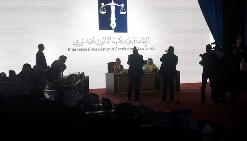 إنشاء الرابطة الدولية لفقهاء القانون الدستوري وإسناد رئاستها لرئيس الجمهورية