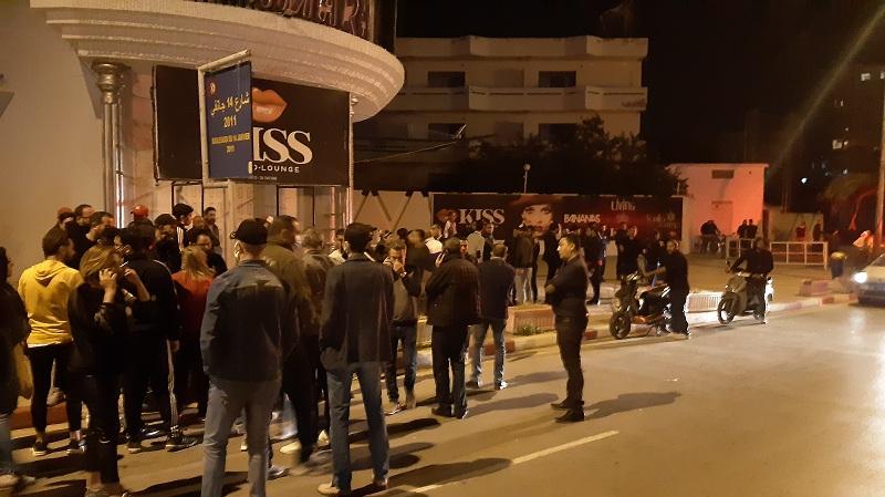 سوسة: أصحاب المهن الليلية في وقفة احتجاجية
