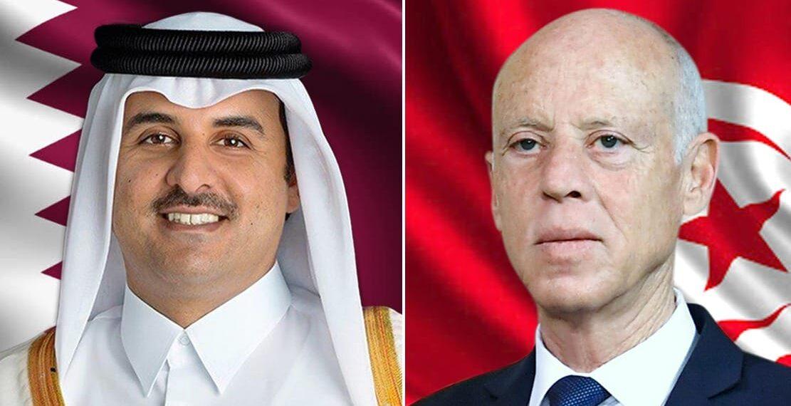 قيس سعيّد يؤدي زيارة الى قطر