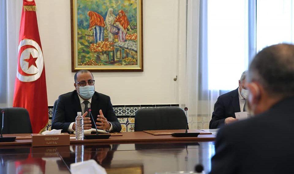 """المشيشي :""""الحكومة حريصة على تشريك الجميع في إثراء مشروع قانون المالية """""""