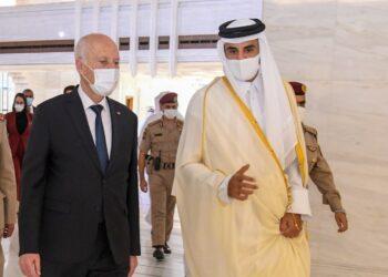 انتهت أمس: حصيلة زيارة قيس سعيد الى قطر