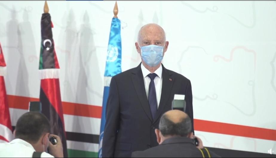 رئيس الجمهورية: تقسيم ليبيا سيكون مقدمة مقنعة لتقسيم دول مجاورة