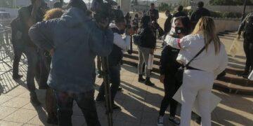 الصحفيون في يوم غضب