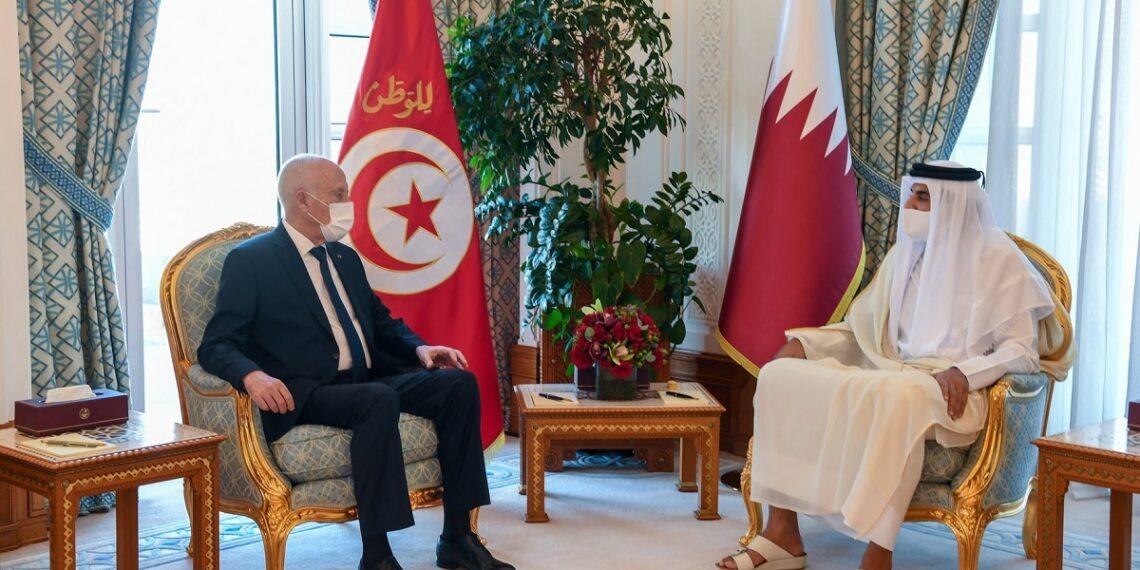 الملف الليبي أحد أهم محاور المحادثات في جلسة العمل التونسية القطرية