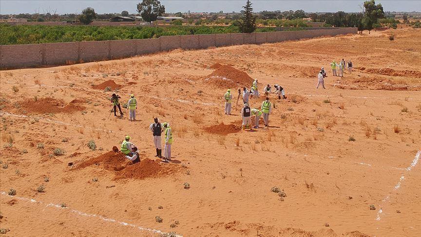 العثور على مقبرة جديدة في ترهونة الليبية