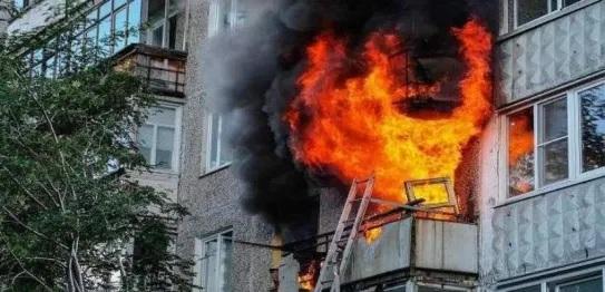 روسيا: مقتل 7 أشخاص بينهم 5 أطفال في حريق