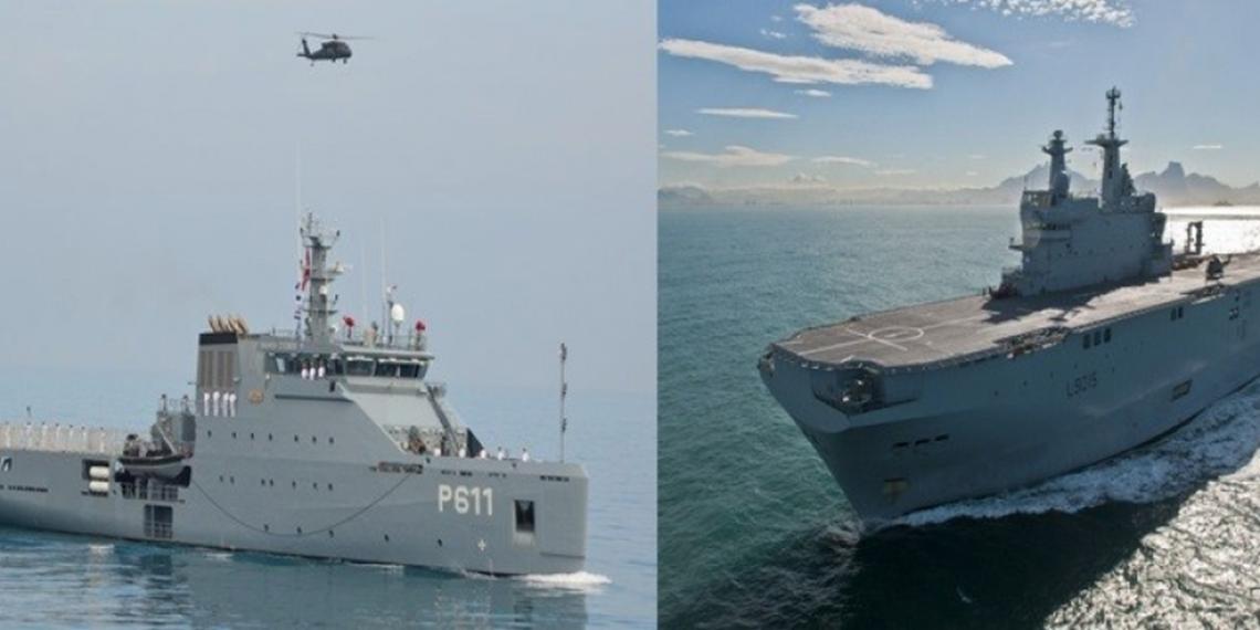 تمرين بحري مشترك بين البحرية التونسية و نظيرتها الإيطالية
