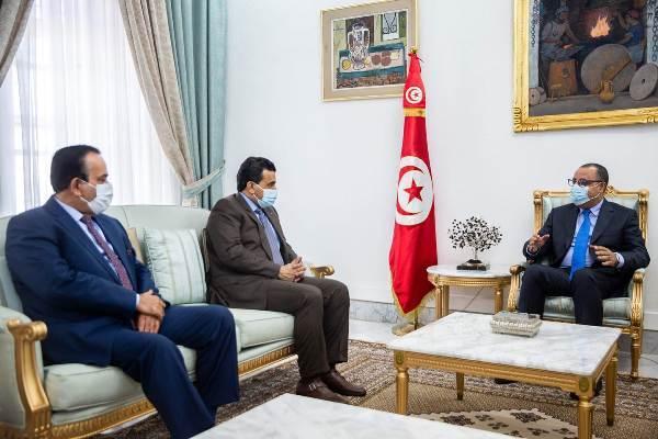 رئيس الحكومة يلتقي النائب العام لدولة قطر