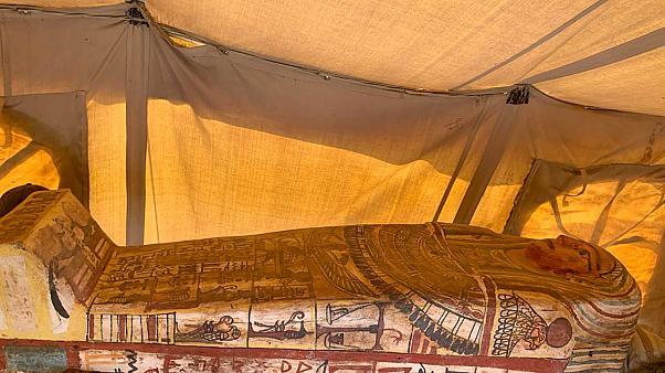 مصر تعلن عن اكتشافات أثرية جديدة