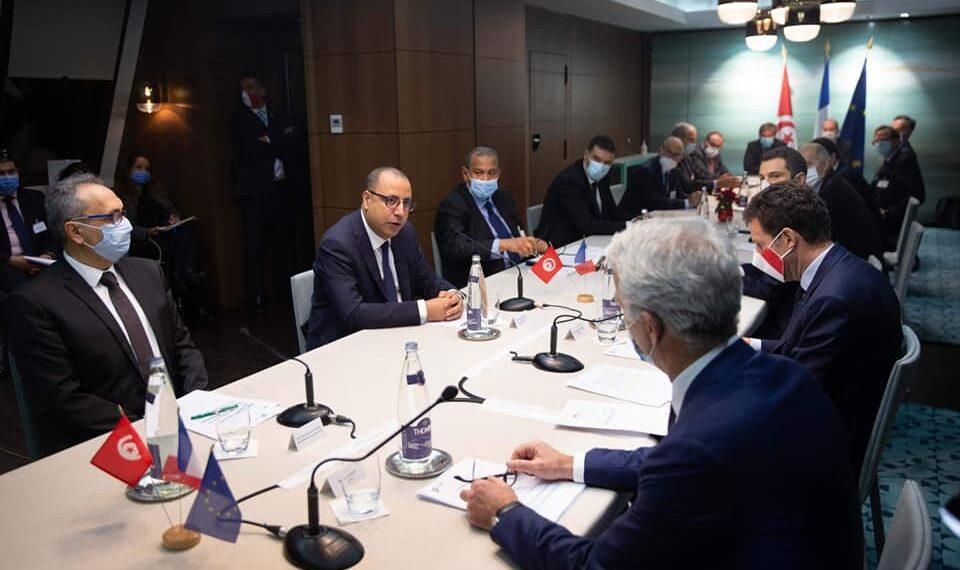 حصيلة زيارة رئيس الحكومة هشام المشيشي إلى فرنسا