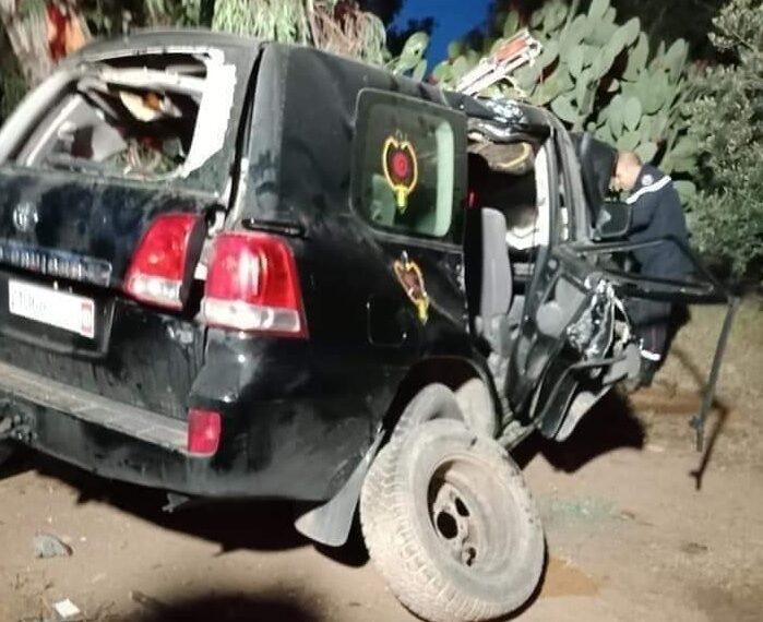 وفاة 3 أعوان حرس وطني في حادث لسيارة مرافقة لموكب وزير الداخلية