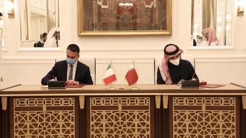 "قطر تفتح ""حوارا استراتيجيا"" مع إيطاليا"