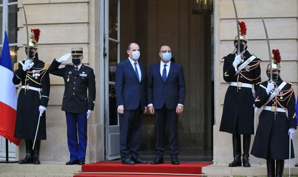 المشيشي يلتقي الوزير الأول الفرنسي