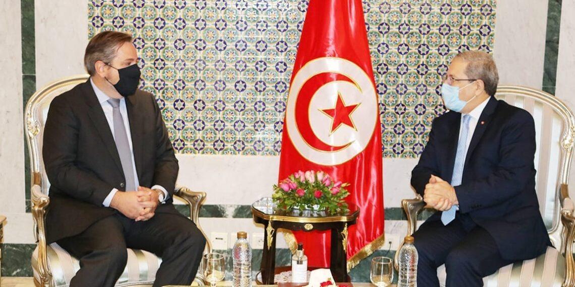 ماذا في لقاء وزير الخارجية بالسفير البلجيكي؟