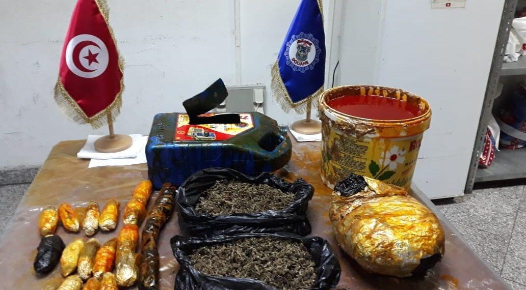 حجز كمية من مخدر الماريخوانا بمطار تونس قرطاج