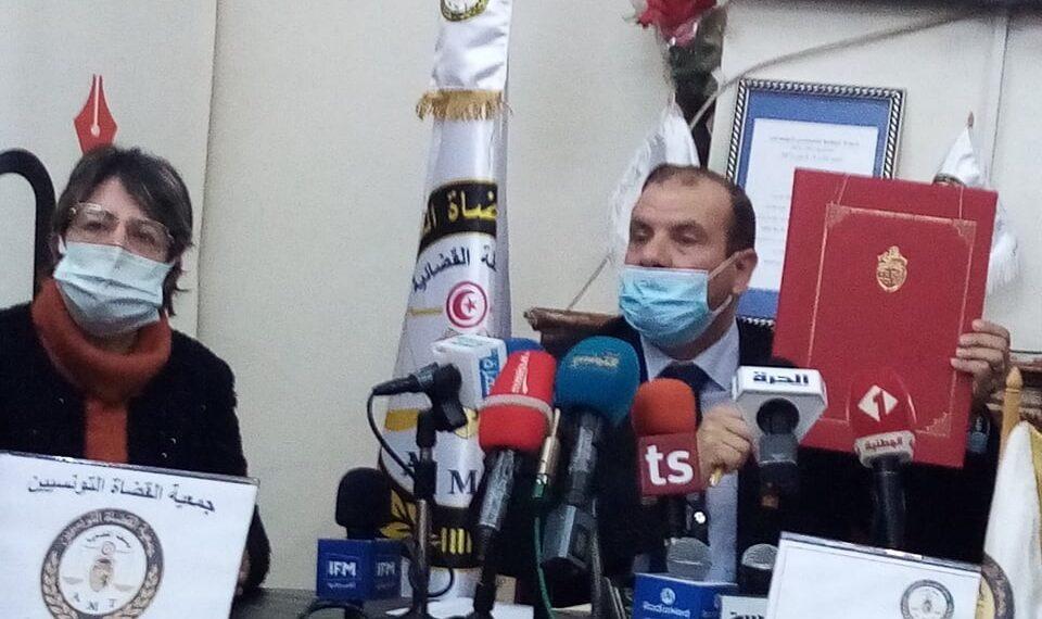 جمعية القضاة توقع اتفاقا مع رئاسة الحكومة