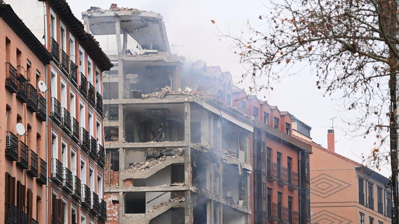 انفجار قوي يهز العاصمة الإسبانية مدريد