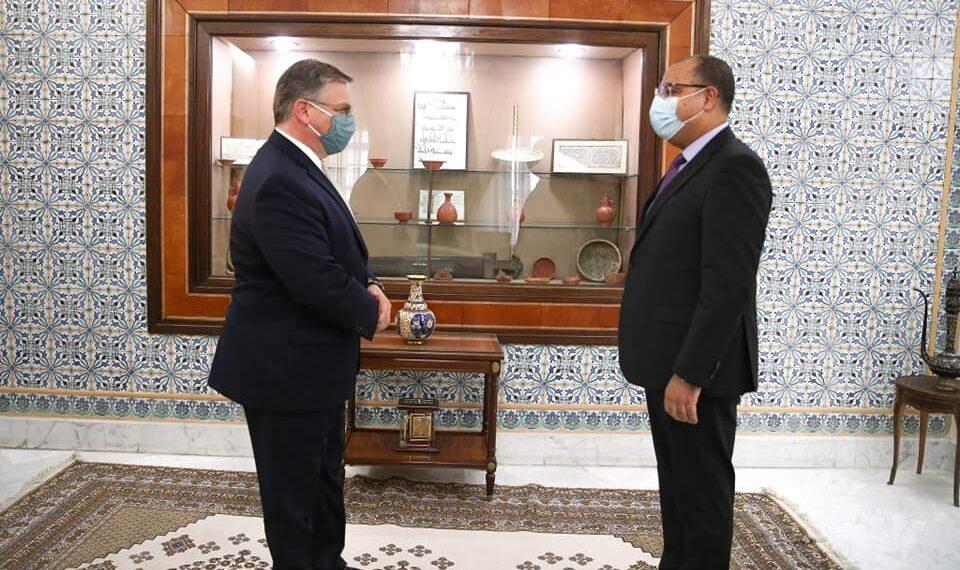 بلوم للمشيشي: بامكان تونس ان تعوّل على الإدارة الأمريكية الجديدة