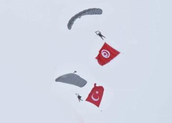 تشكيلة عسكرية تونسية تشارك في تنفيذ تدريبات عسكرية مشتركة بتركيا