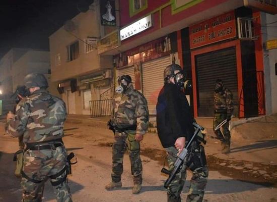 الجيش يتدخل لحماية المقرات السيادية في سوسة والقصرين وبنزرت وسليانة