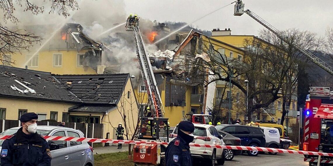 انفجار في مبنى سكني بالنمسا