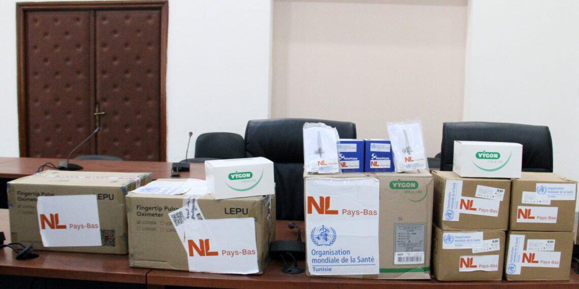 تونس تتسلّم معدات طبية من منظمة الصحة العالمية
