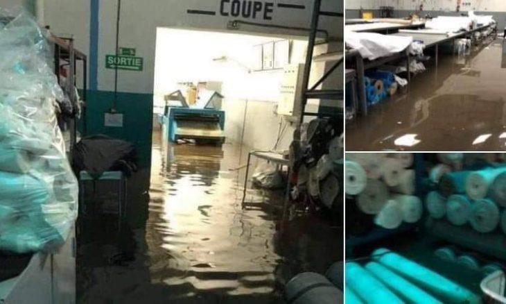 مصرع 24 شخصا بمعمل نسيج غمرته مياه الأمطار في المغرب