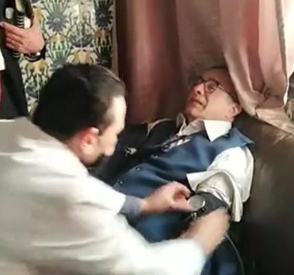 فيصل دربال يتعرض لوعكة صحية بالبرلمان