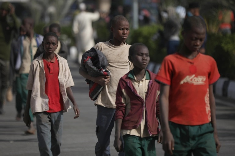 اختطاف تلاميذ في نيجيريا