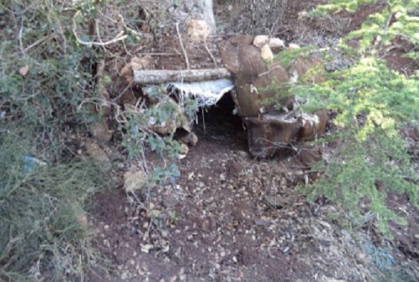 الكشف عن مخبأ للعناصر الإرهابيّة بأحد جبال القصرين معدّ لصنع الألغام