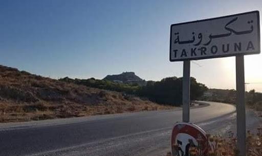 سوسة: انهيار جزء من الجبل الذي تقع فوقه قرية تكرونة البربرية