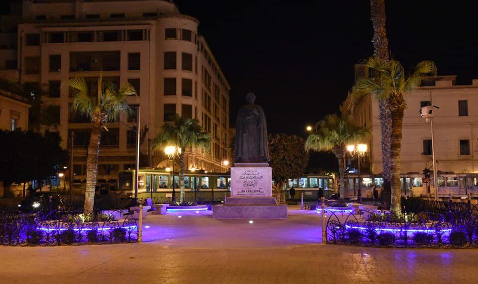 ساحة بن خلدون بالعاصمة في حلّتها الجديدة(صور)