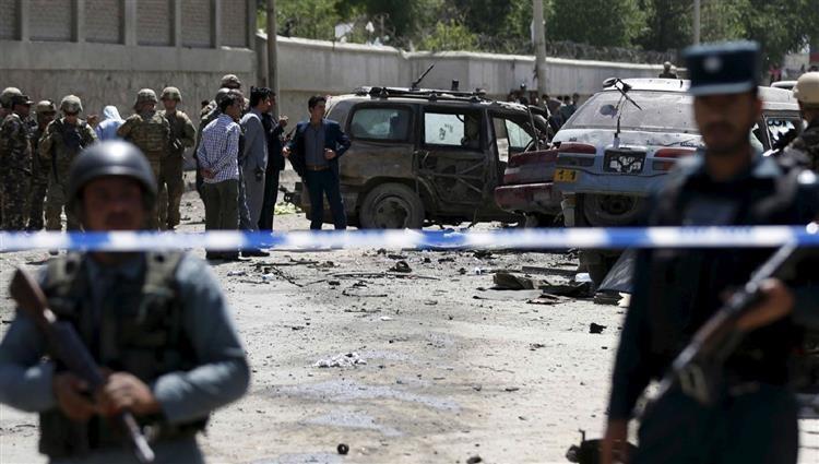 مقتل 6 من عناصر الشرطة في تفجير غربي أفغانستان