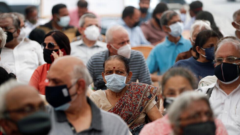 الهند تسجل نحو 97 ألف إصابة جديدة بفيروس كورونا