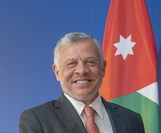 ملك الأردن يعبر عن استعداده لتلبية دعوة رئيس الجمهورية لزيارة تونس