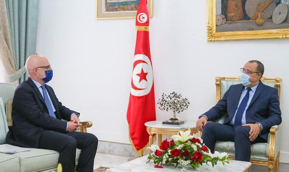 إيطاليا تؤكد مساندتها اللامشروطة لتونس في مفاوضاتها مع صندوق النقد الدولي