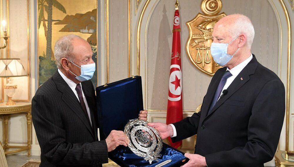 فحوى لقاء قيس سعيّد مع الأمين العام لجامعة الدول العربية