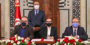توقيع اتفاق تسوية حول الديون المتخلدة بذمة الجمعيات الرياضية