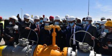 تدشين أنبوب جديد للغاز بين الجزائر واسبانيا